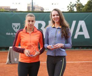 Gjorcheska y Galina Voskoboeva campeonas dobles BBVA Open Ciudad de Valencia