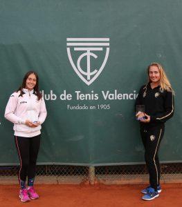 Alicia Herrero y Ksenija Sharifova finalistas del BBVA Open Ciudad de Valencia