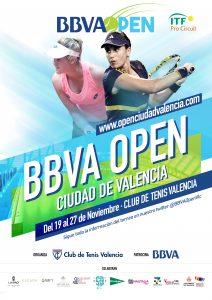 Cartel Oficial BBVA Open Ciudad de Valencia