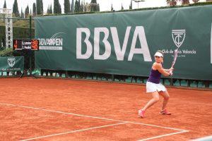 Jasmine Paolini en la final del BBVA Open Ciudad de Valencia